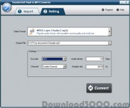 ThunderSoft Flash to MP3 Converter screenshot